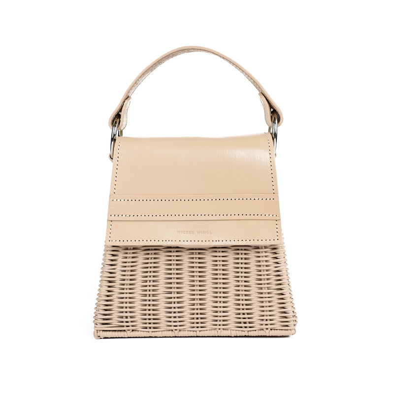 Wicker Wings - Wicker Handbag - Straw Bag - Woven Bag - Summer Bag - Basket Bag (4950198091915)
