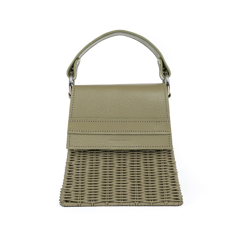 Wicker Wings - Wicker Handbag - Straw Bag - Woven Bag - Summer Bag - Basket Bag (4946590761099)