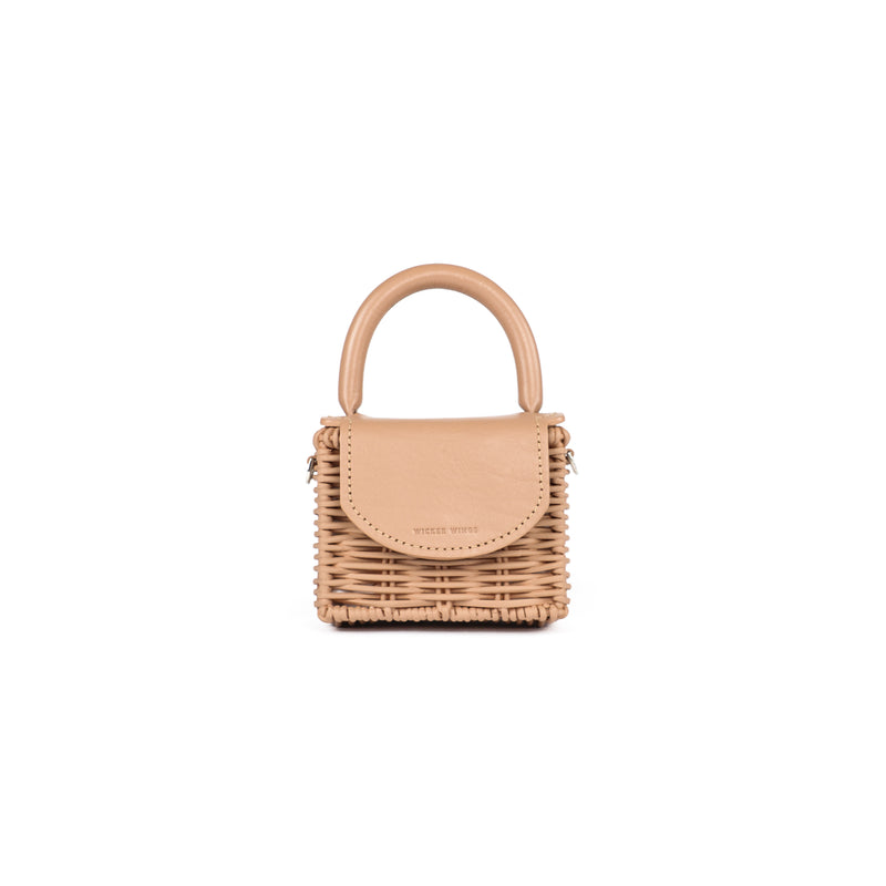 Wicker Wings - Wicker Handbag - Straw Bag - Woven Bag - Summer Bag - Basket Bag - Micro Bag (4950287188107)