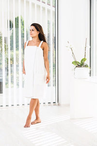 LUIN LIVING spa dress wit
