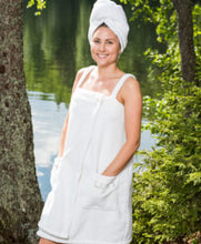 Afbeelding in Gallery-weergave laden, LUIN LIVING spa dress wit