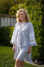 Afbeelding in Gallery-weergave laden, MARYBLOOM TUNIEK GREY STRIPES