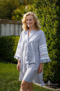 MARYBLOOM TUNIEK GREY STRIPES