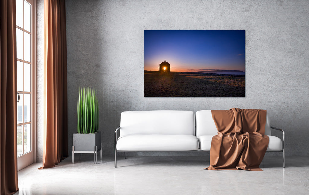 Sunset Mussendun Temple North Coast - interior room