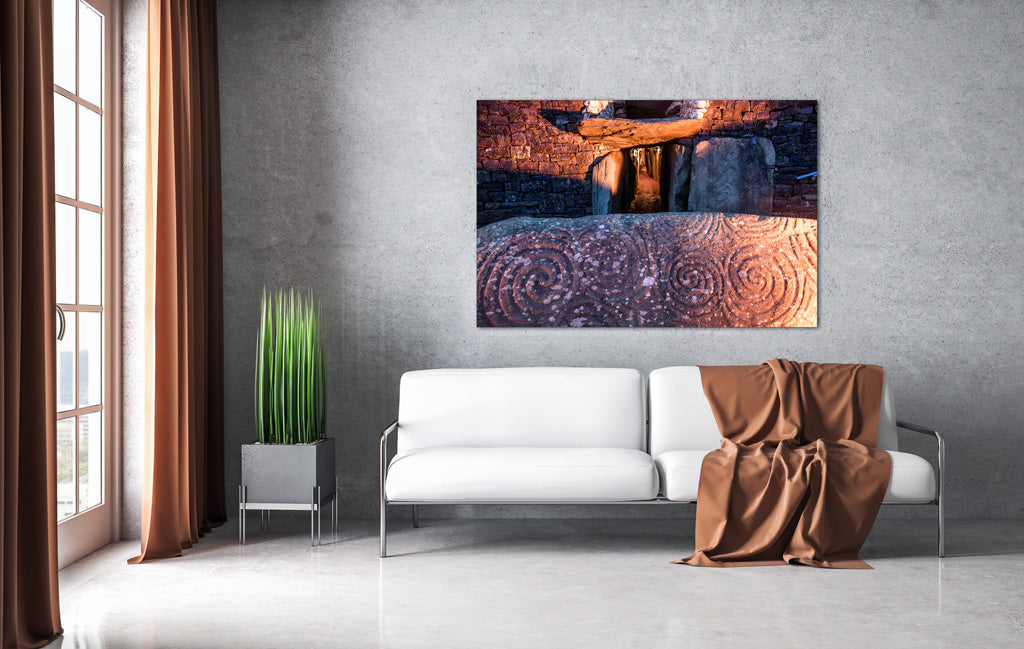 Winter Solstice New Grange Co Lowth Ireland wall art