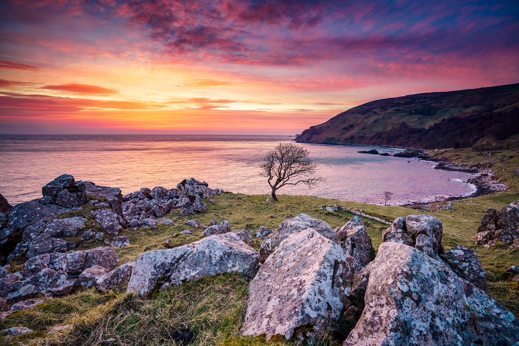 Sunrise Murlough Bay Game of Thrones location