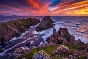 Sunset at Malin Head, Donegal