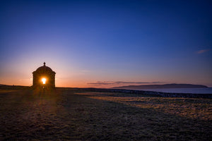 Sunset Mussendun Temple North Coast