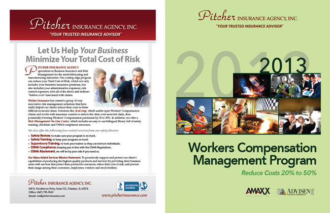 Co-Back Cover Customization of WC Management Program for Pitcher Insurance Agency