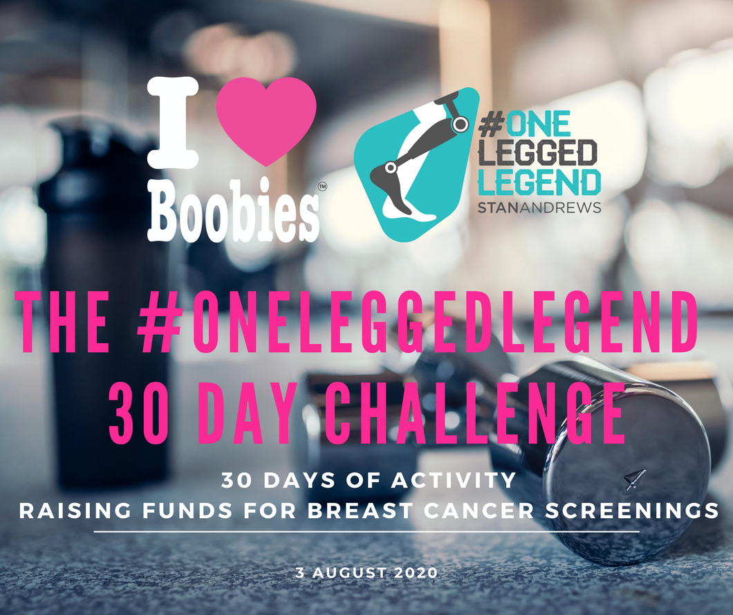 The #oneleggedlegend 30 day challenge