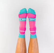 Load image into Gallery viewer, PINK TABLE MOUNTAIN SOCKS