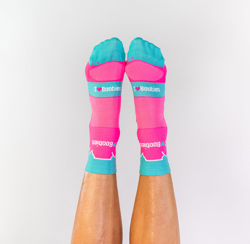 PINK TABLE MOUNTAIN SOCKS