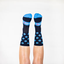 Load image into Gallery viewer, COOL BLUE SPOTS SOCKS