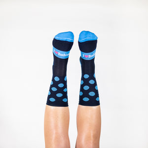 COOL BLUE SPOTS SOCKS