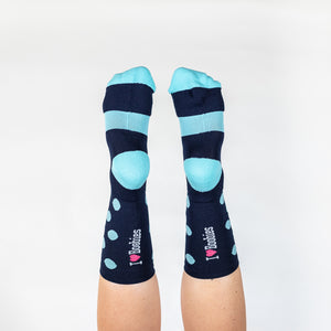 FRESH MINT SPOT SOCKS