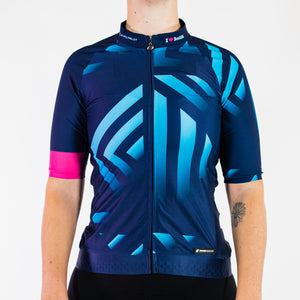 BLUE FUSE CYCLE JERSEY