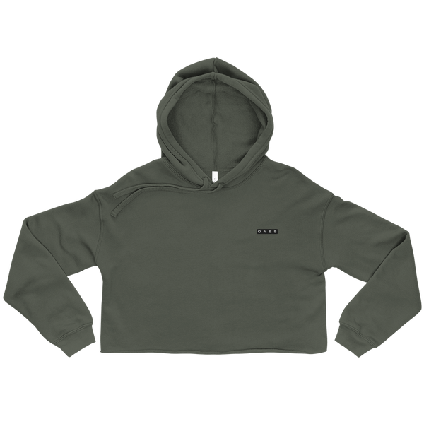 Boxed Ones Edition Crop Hoodie