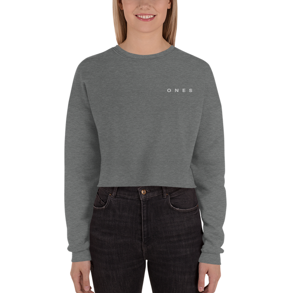 Classic Ones Edition Crop Sweatshirt