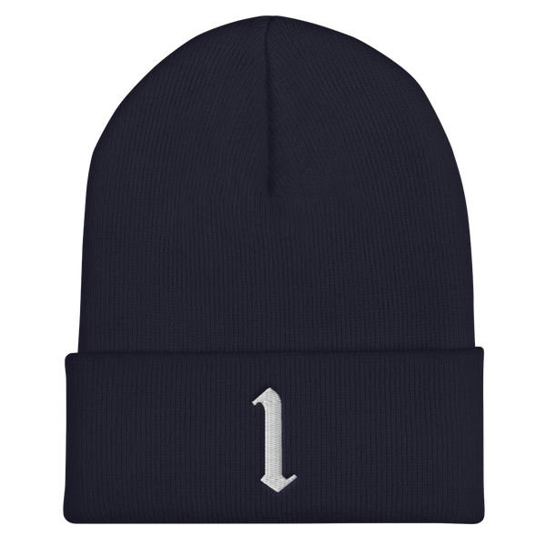 Original 1 Edition Cuffed Beanie