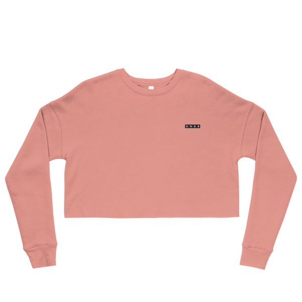 Boxed Ones Edition Crop Sweatshirt