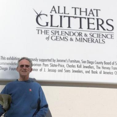 Mark Visits All That Glitters Exhibit - Mark Schneider Design