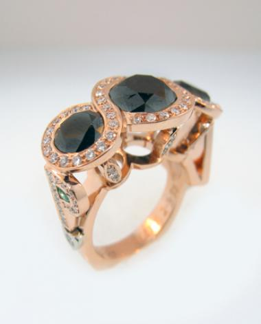 Custom Jewelry Emporium Ring - Mark Schneider Design