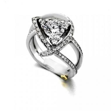Luxury Engagement Ring Featured on Brides.com! - Mark Schneider Design