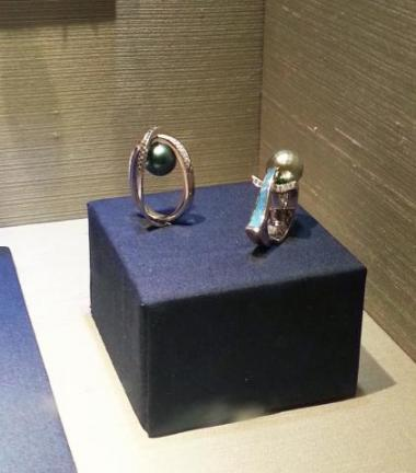 Mark's Pearl Rings on Display at Forbes Space Exhibit - Mark Schneider Design