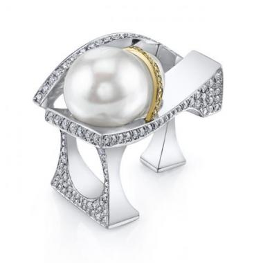 Contempo Pearl Ring - From Sketch to Finished Piece - Mark Schneider Design
