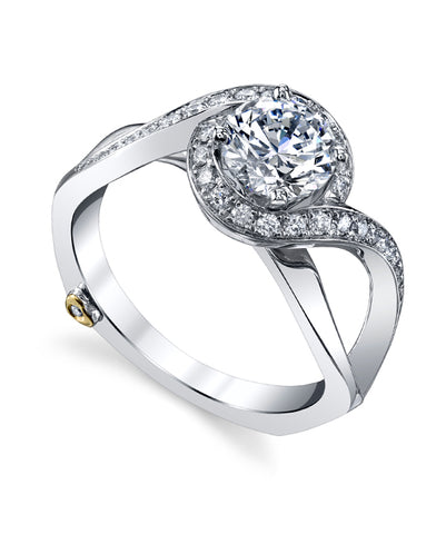 mark Schneider Engagement Ring - Mystify