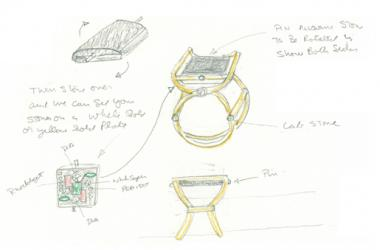 Chair Ring - Week 1 - Mark Schneider Design