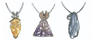 New Pendant Sketches - Mark Schneider Design