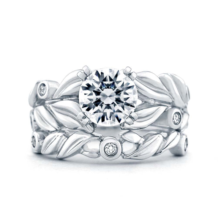 White Gold | Flora-engagement-ring