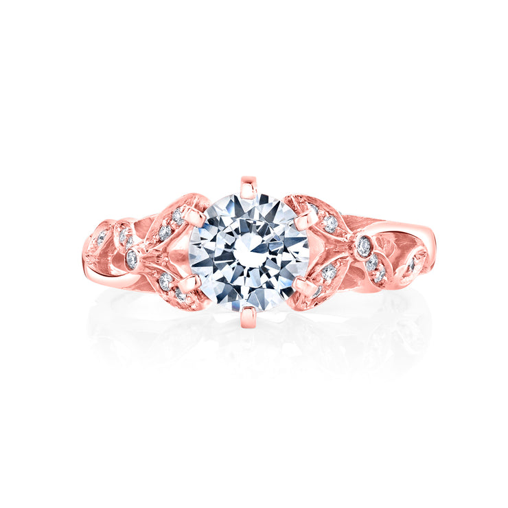 Rose Gold | Adore-engagement-ring