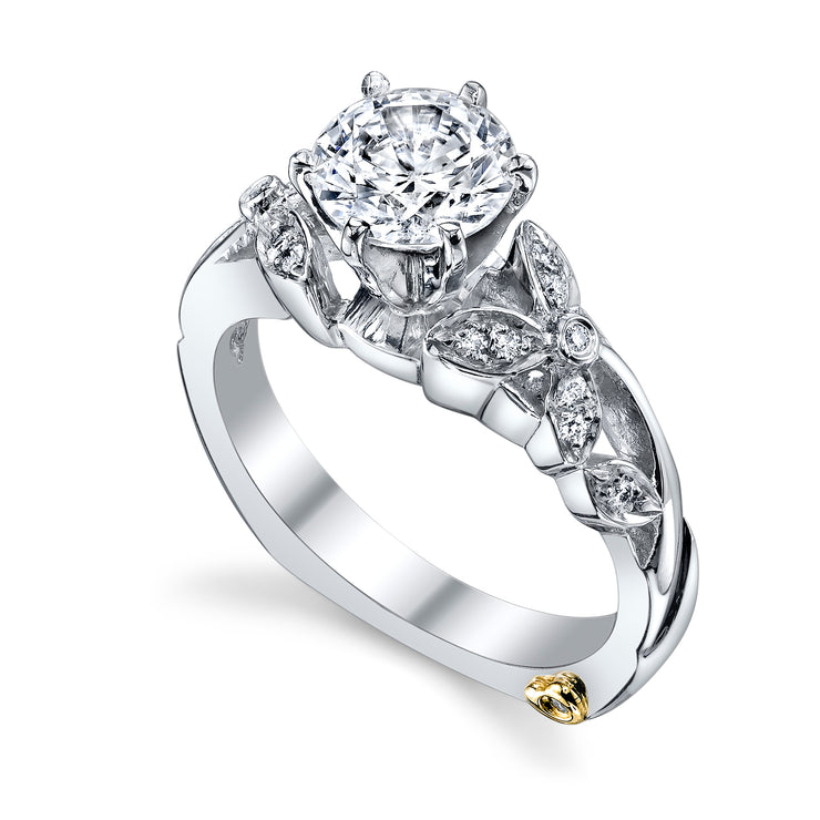 White Gold | Adore-engagement-ring