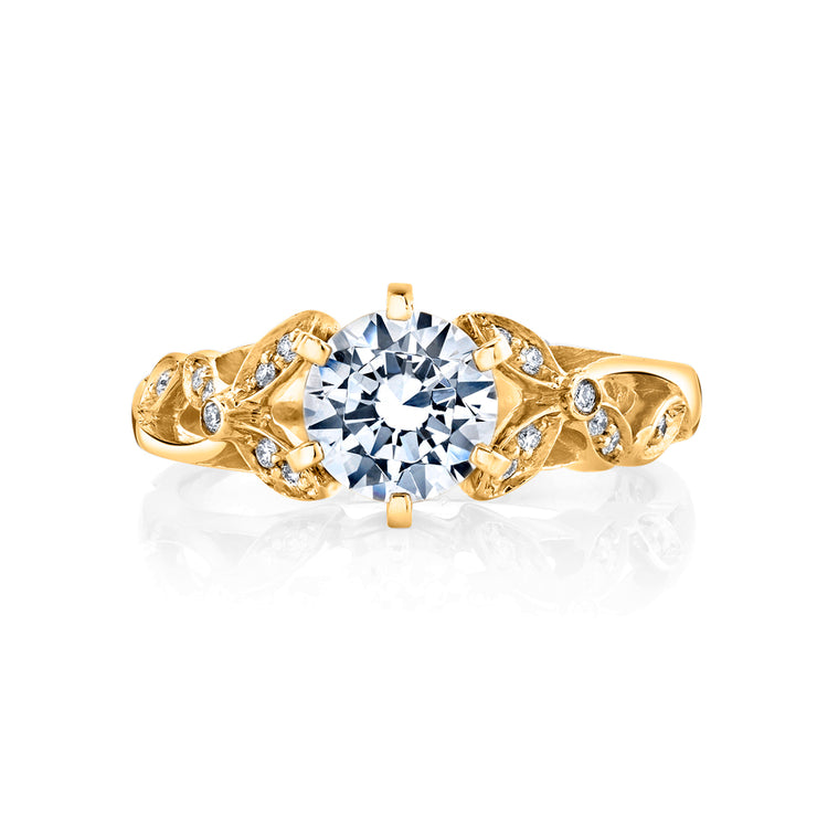 Yellow Gold | Adore-engagement-ring