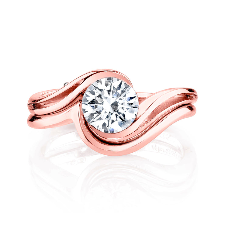 Rose Gold | Aerial-engagement-ring