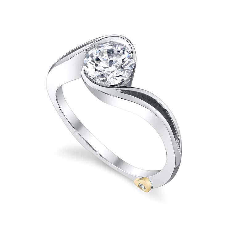 White Gold | Aerial-engagement-ring