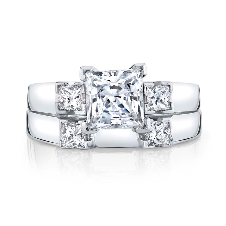 White Gold | Alluring-engagement-ring