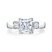 Platinum | Alluring-engagement-ring