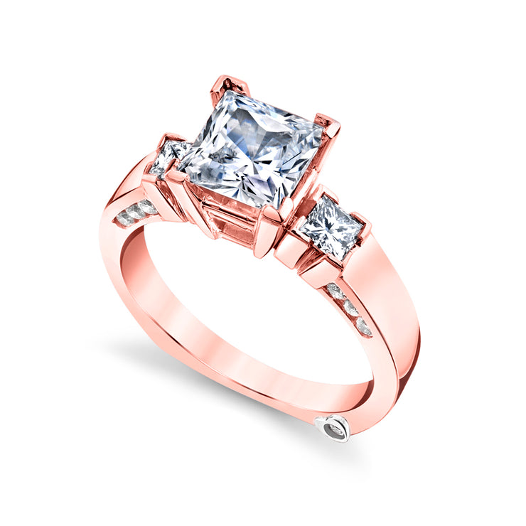 Rose Gold | Alluring-engagement-ring