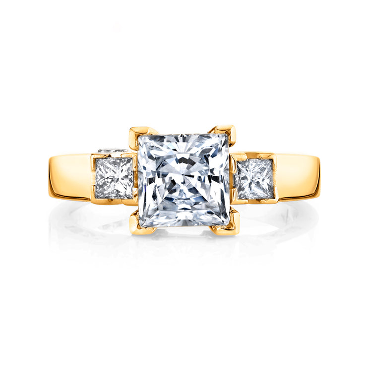 Yellow Gold | Alluring-engagement-ring