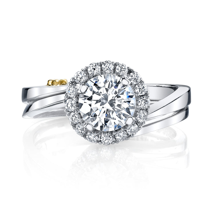 White Gold | Angelic-engagement-ring