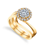 Yellow Gold | Angelic-engagement-ring