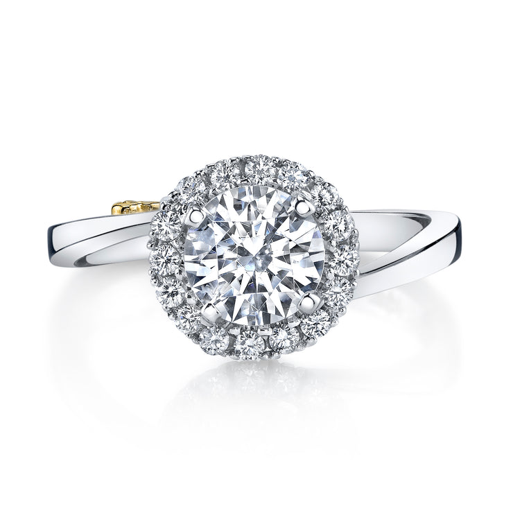 Platinum | Angelic-engagement-ring