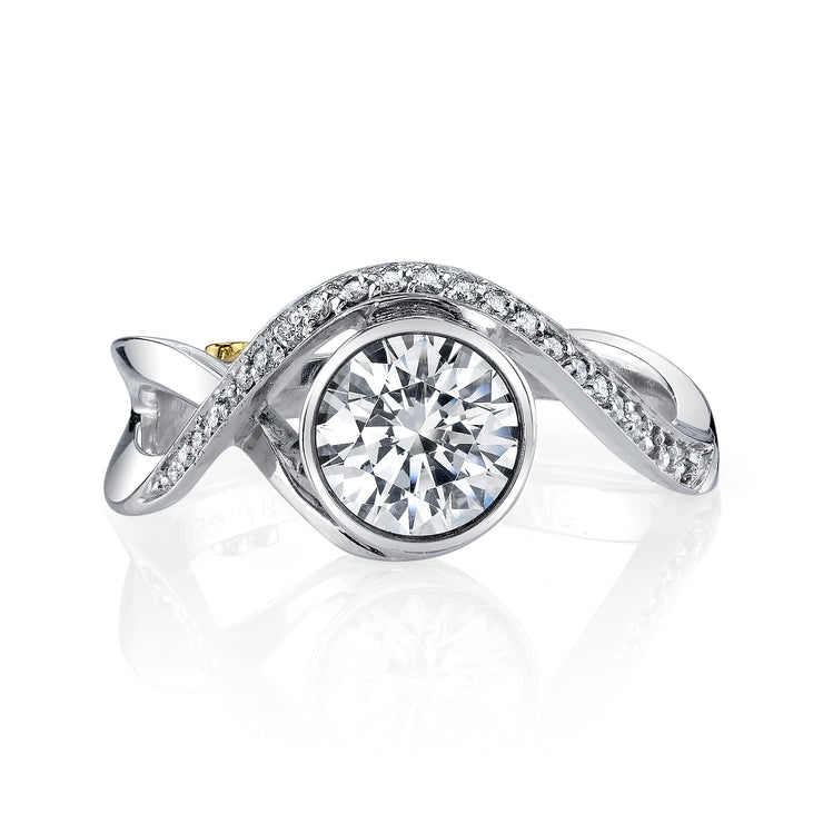 White Gold | Aurora-engagement-ring
