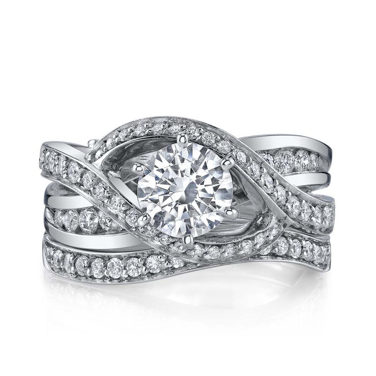 Platinum | Bedazzle-engagement-ring