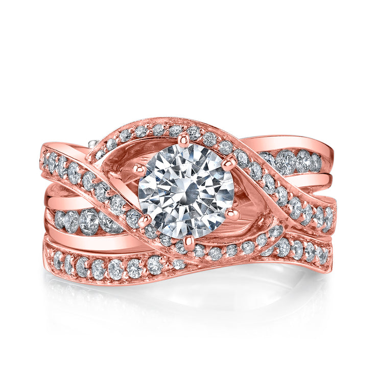 Rose Gold | Bedazzle-engagement-ring
