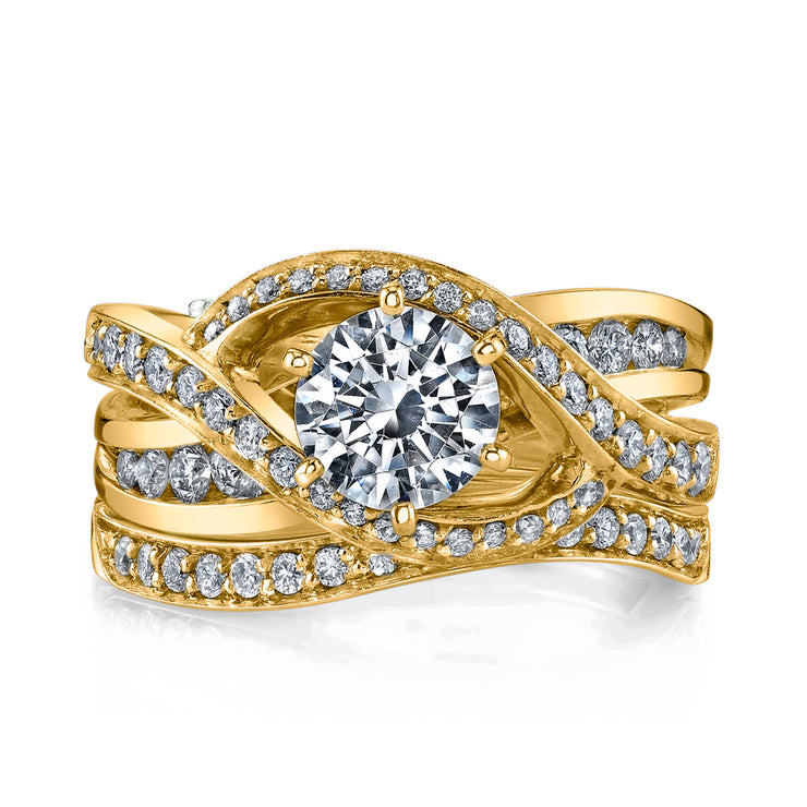 Yellow Gold | Bedazzle-engagement-ring