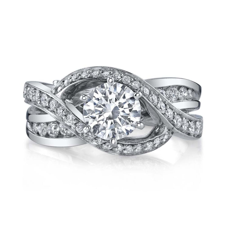 White Gold | Bedazzle-engagement-ring